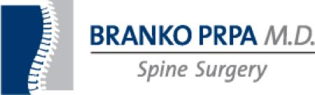 Branko PRPA M.D. Spine Surgery Logo